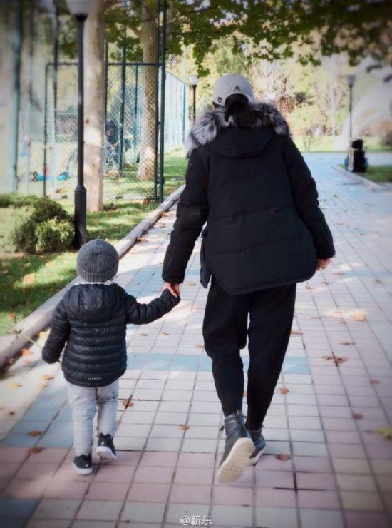 李佳与儿子