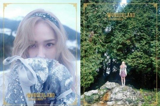 Jessica郑秀妍12月携新专辑回归 专辑预告片神秘梦幻【组图】