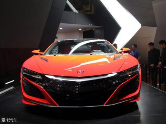 2016北京车展:全新讴歌NSX起售约300万