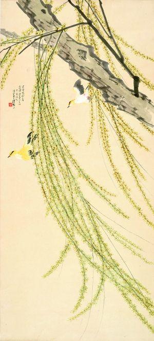 水彩柳树的画法