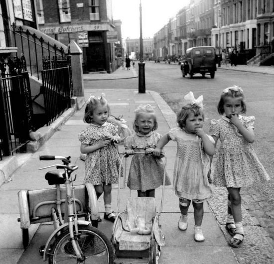 20世纪伦敦街头光景有趣又荒诞
