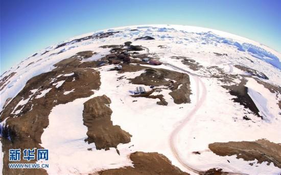 换个角度看南极