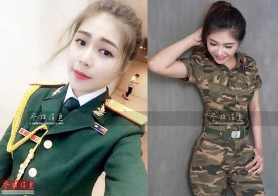 越南军队文艺大学美女如云群芳争艳(组图)