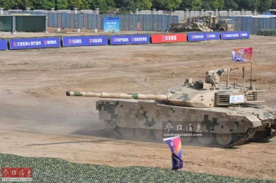 陆战猛兽:VT系列坦克机动演示劲爆图集