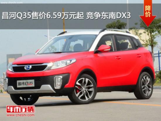 昌河Q35售价6.59万元起 竞争东南DX3-图1
