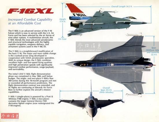 F-16魔改版?载7吨弹药奔袭4500千米(组图)