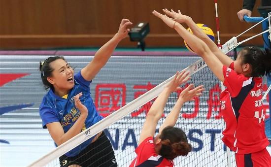 女排联赛 北京胜江苏图片 68179 550x339