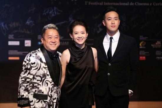 澳门国际影展开幕 章子怡任大使正筹备新电影