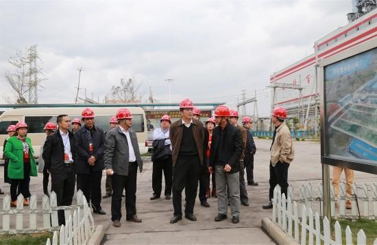 百色市人大常委會主任闕建林率隊深入百礦電鋁基地調研