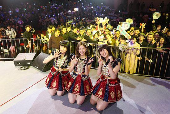 AKB48粉丝见面会打造娱乐嘉年华