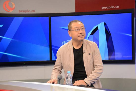 范伟做客人民网畅谈获金马奖最佳男主角背后故事