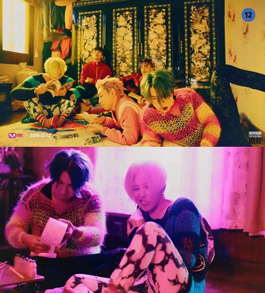 Bigbang完整体回归 《FXXK IT》和《LAST DANCE》MV公开【组图】
