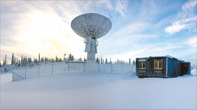 我国遥感卫星北极接收站试运行