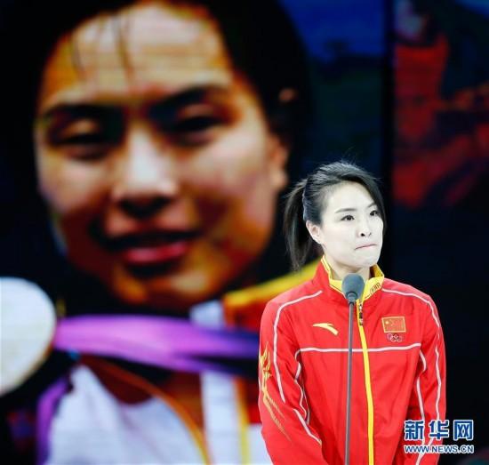 中国跳水运动员吴敏霞宣布退役(图)
