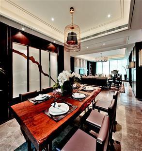 图文 新中式实木家具悄然兴起
