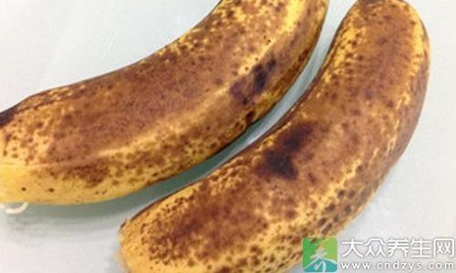 不同颜色的香蕉营养各不同
