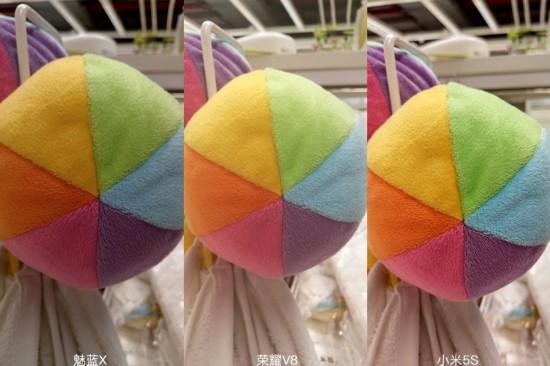 魅蓝荣耀小米拍照对比 色彩取向差异大