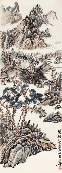 山水图 赵丹