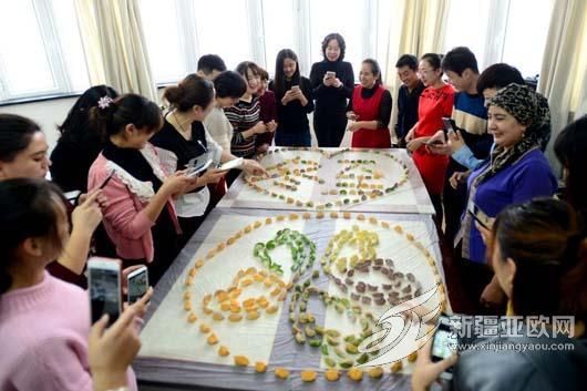 五彩饺子喜迎冬至