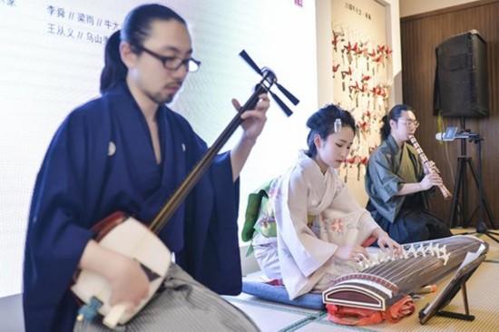 日本古典乐器演奏-相 对 论MTM25周年跨界艺术展