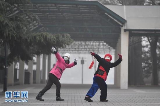 北京空气重污染持续