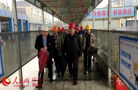 江苏住建厅直属机关党委调研组赴苏州无锡调研