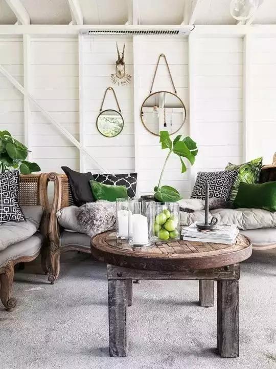 家居中的一抹绿 室内植物让家更清新