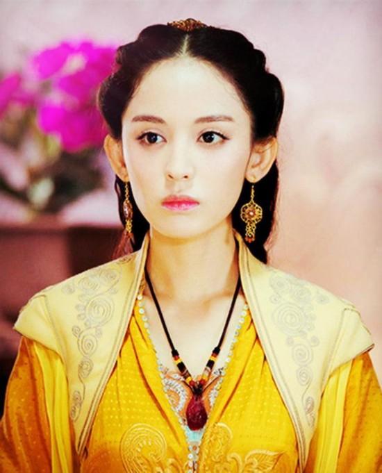 古装女神赵丽颖第四,娜扎垫底,她竟然是第一?
