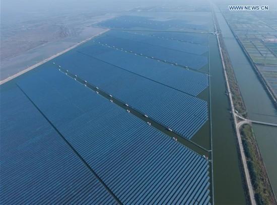 CHINA-ZHEJIANG-CIXI-SOLAR POWER-FISHERY (CN)
