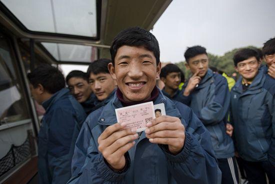 移动售票:为藏族学子送温馨