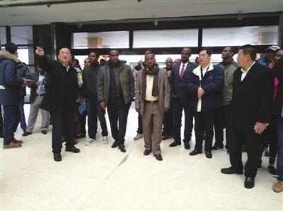 埃塞俄比亚代表团考察南通海门叠石桥