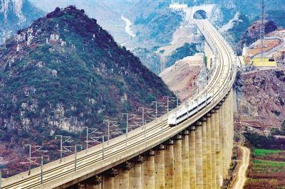 高铁大动脉沪昆高铁全线贯通