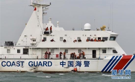 中国海警舰艇实战化大比武(组图)