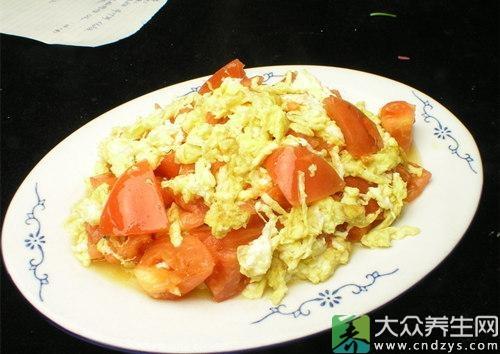 西红柿炒鸡蛋竟有9大神奇功效