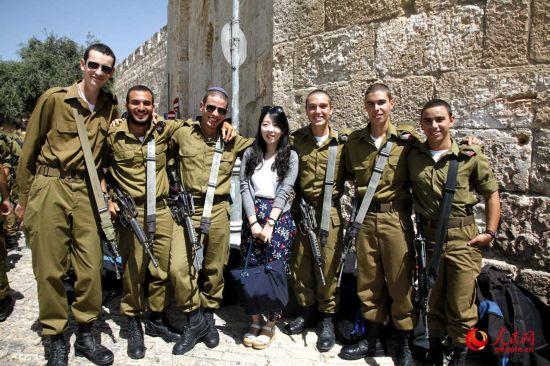 以色列:有色、有颜、有情