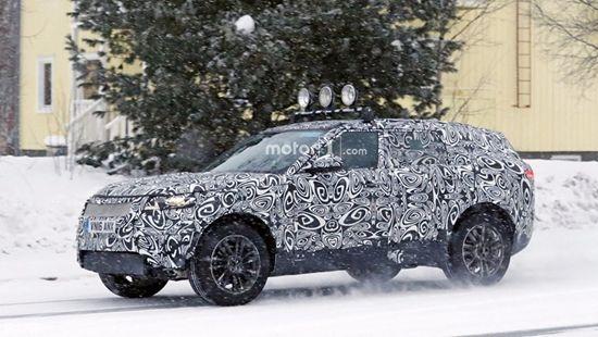 路虎新款Coupe造型SUV曝光 竞争宝马X6