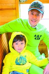 蔡国庆带儿子上节目释放真性情:因为爱情我不会老