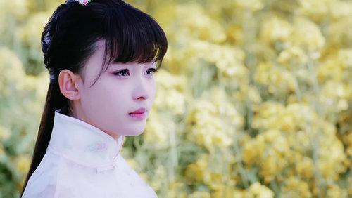 孙怡白色旗袍