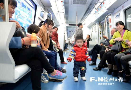 福州地铁1号线后天起全线试运营 比原计划提前14天