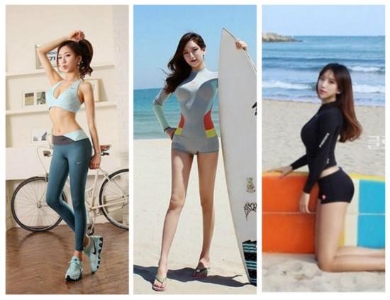韩国美女健身教练美图集锦 减肥食谱教你轻松瘦一夏【组图】