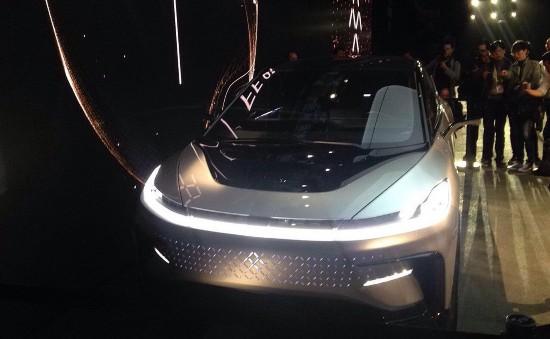 法拉第未来首款量产车FF 91于CES亮相