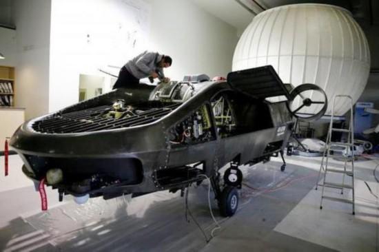 以色列载客无人机试飞成功 2020年面世