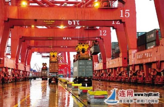 连云港港2016年吞吐量2.21亿吨 同比增长5.03%