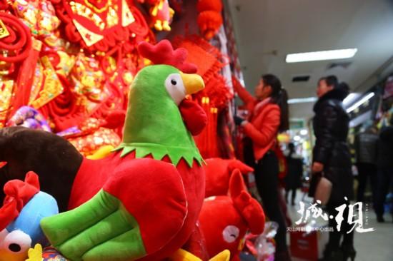 新疆:红红火火迎新春(组图)