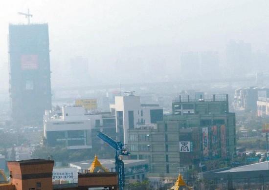 台湾空气污染达红色等级 过敏、气喘等患者增加