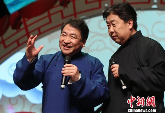 """南北笑星齐聚金陵相声大会""""插科打诨""""爆笑上演"""