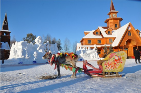 Tourism makes Mohe county China's true north in winter
