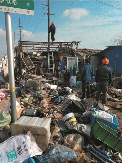常州金坛取缔废品收购一条街 市貌得到提升