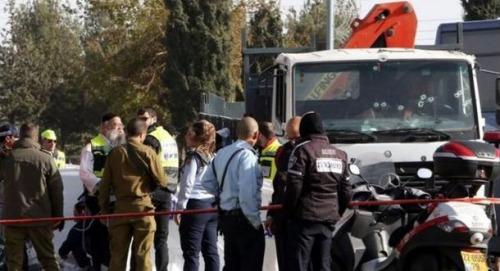 耶路撒冷卡车冲撞人群致4死13伤以色列称系恐袭