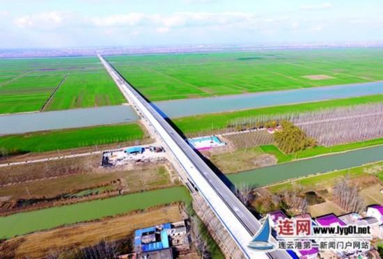 204国道连云港灌南段全线贯通 全长12.74公里